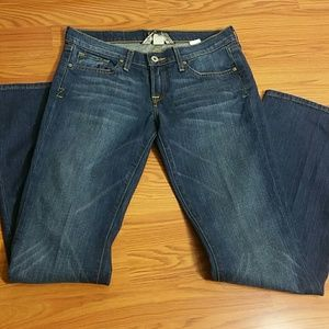 "Lucky Brand Zoe flare Jeans Size 28/6Wx33""L"